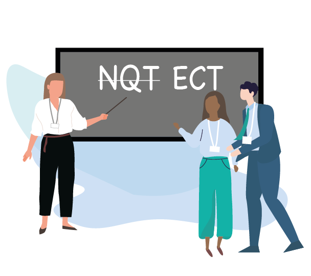 Changes from NQT to ECT (Early Career Teacher)